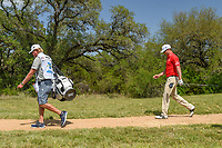 Zach Johnson (USA) heads down 9 during Round 1 of the Valero Texas Open, AT&amp;T Oaks Course, TPC San Antonio, San Antonio, Texas, USA. 4/19/2018.<br /> Picture: Golffile | Ken Murray<br /> <br /> <br /> All photo usage must carry mandatory copyright credit (&copy; Golffile | Ken Murray)