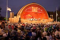 Landmarks Orchestra at Hatch Shell, Boston, MA  (Hobart Earle conducting)