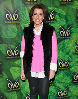 Natasha Kaplinsky at the OVO by Cirque du Soleil press night, Royal Albert Hall, Kensington Gore, London, England, UK, on Wednesday 10 January 2018.<br /> CAP/CAN<br /> &copy;CAN/Capital Pictures