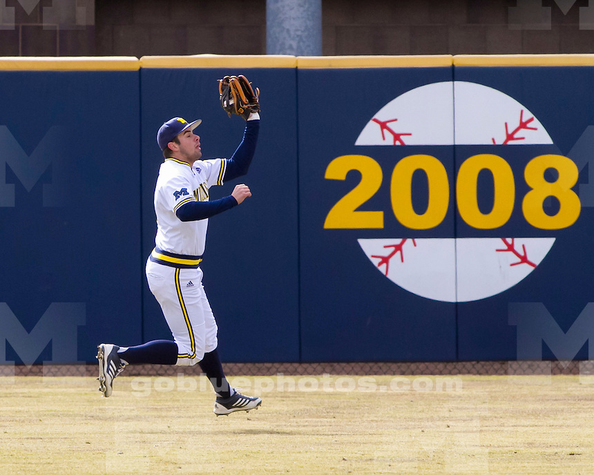 The University of Michigan baseball team lost to Western Michigan, 7-3, at the Wilpon Complex in Ann Arbor, Mich., on March 27, 2013.