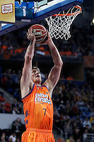 Valencia Basket Club's Justin Doellman during Spanish Basketball King's Cup semifinal match.February 07,2013. (ALTERPHOTOS/Acero) /NortePhoto