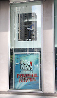 NEW YORK, NY - JULY 6:  FOX News personnel removing the poster of Gretchen Carlson atf FOX News headquarters following the announcement of Carlson's lawsuit against FOX News CEO Roger Ailes for sexual harassment  in New York, New York on July 6, 2016.  Photo Credit: Rainmaker Photo/MediaPunch