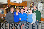 25th Birthday: Adrian Kelly, Tabbert celebrating his 25th birthday with family at Behan's Restaurant in the  Horseshoe Bar, Listowel on Saturday last...L-R : Tommy Fitzell, Kay, Adrian, Garry, Grace Kelly & John O'Sullivan.