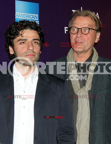 April 21, 2012  Oscar Isaac and David Rasche attend the premiere of  Revenge for Jolly -2012 Tribeca Film Festival at the Chelsea Clearview Cinemas  in New York City. ©RW/MediaPunch Inc.
