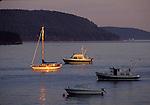 Yachts near Olga