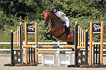 Class 4. British showjumping juniors. Brook Farm Training Centre. Essex. UK. 08/07/2018. ~ MANDATORY Credit Garry Bowden/Sportinpictures - NO UNAUTHORISED USE - 07837 394578