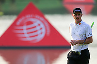 Justin Rose (ENG) on the 9th green during round 1 at the WGC HSBC Champions, Sheshan Golf Club, Shanghai, China. 31/10/2019.<br /> Picture Fran Caffrey / Golffile.ie<br /> <br /> All photo usage must carry mandatory copyright credit (© Golffile | Fran Caffrey)