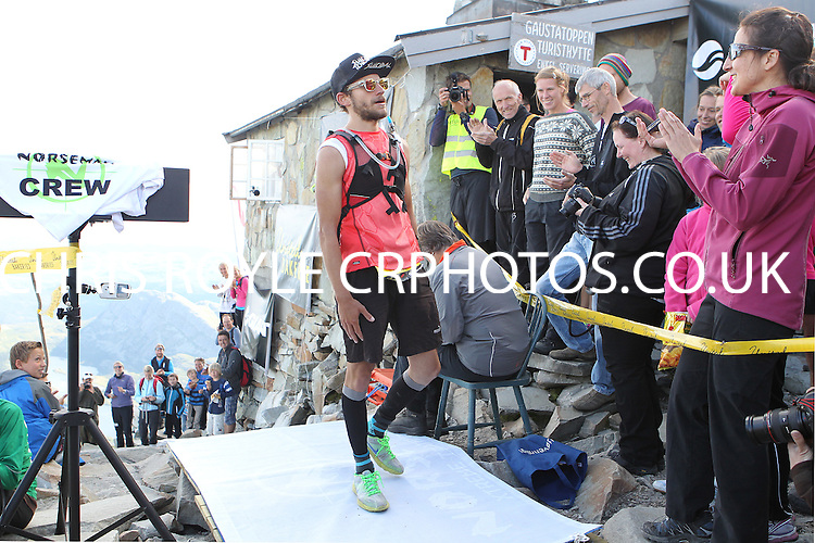 Starting Number 57 - Arnaud Epp - Norseman Xtreme Tri 2012 - Norway - photo by chris royle/ boxingheaven@gmail.com