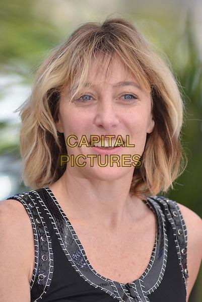 Valeria Bruni Tedeschi.'Un Chateau En Italie'  photocall at 66th Cannes Film Festival, France 21st May 2013.headshot portrait balck.CAP/PL.©Phil Loftus/Capital Pictures.