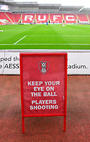 A general view of The AESSEAL New York Stadium, home of Rotherham United<br /> <br /> Photographer Chris Vaughan/CameraSport<br /> <br /> The Carabao Cup First Round - Rotherham United v Lincoln City - Tuesday 8th August 2017 - New York Stadium - Rotherham<br />  <br /> World Copyright &copy; 2017 CameraSport. All rights reserved. 43 Linden Ave. Countesthorpe. Leicester. England. LE8 5PG - Tel: +44 (0) 116 277 4147 - admin@camerasport.com - www.camerasport.com