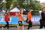 Silver medal winner Anna Van Dee Breggan (NED) at the end of the Women Elite Road Race of the UCI World Championships 2019 running 149.4km from Bradford to Harrogate, England. 28th September 2019.<br /> Picture: Seamus Yore | Cyclefile<br /> <br /> All photos usage must carry mandatory copyright credit (© Cyclefile | Seamus Yore)