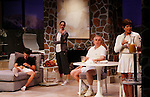 """As The World Turns' Colleen Zenk stars along with the cast - Davy Raphaely, Brenda Withers, Malachy Cleary in """"Other Desert Cities"""" at the tech rehearsal (in costume) on October 14, 2015 ar Whippoorwill Halll Theatre, North Castle Library, Kent Place, Armonk, New York.  (Photo by Sue Coflin/Max Photos)"""