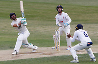 Heino Kuhn of Kent hits out during Essex CCC vs Kent CCC, Bob Willis Trophy Cricket at The Cloudfm County Ground on 3rd August 2020
