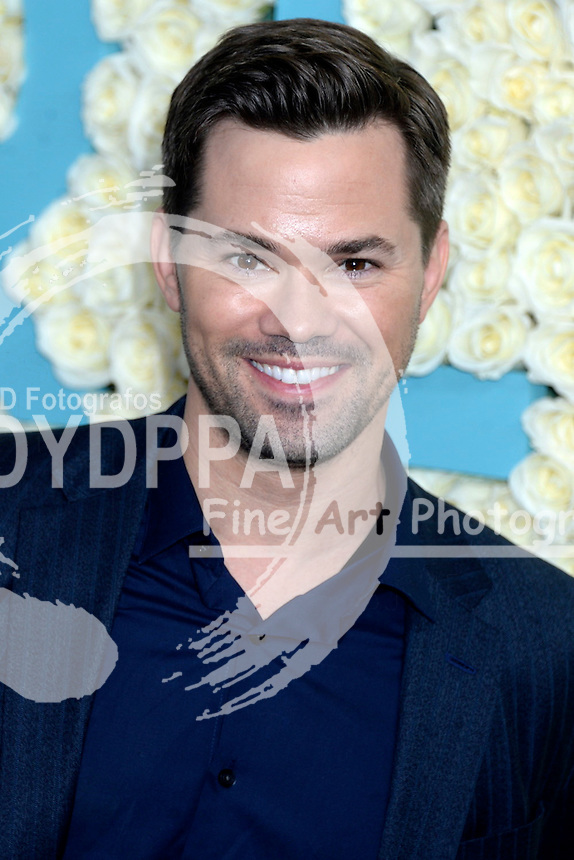 Andrew Rannells attends the 'Girls' premiere at Alice Tully Hall, Lincoln Center on February 2, 2017 in New York City.
