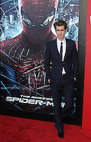Andrew Garfield at the premiere of Columbia Pictures' 'The Amazing Spider-Man' at the Regency Village Theatre on June 28, 2012 in Westwood, California. © mpi22/MediaPunch Inc. *NORTEPHOTO.COM*<br /> **CREDITO*OBLIGATORIO** *No*Venta*A*Terceros* *No*Sale*So*third* *No*Se *Permite*Hacer*Archivo**