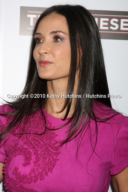 "Demi Moore.arrives at ""The Joneses"" Premiere.ArcLight Theaters.Los Angeles, CA.April 7, 2010.©2010 Kathy Hutchins / Hutchins Photo..."