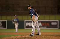 Seattle Mariners relief pitcher Tom Delaplane (38) during a Minor League Spring Training game against the Los Angeles Dodgers at Camelback Ranch on March 28, 2018 in Glendale, Arizona. (Zachary Lucy/Four Seam Images)