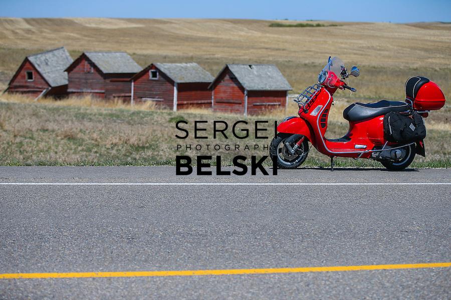 My Vespa Adventures Saskatoon Trip. Photo Credit: Sergei Belski