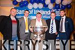 Damien Quill, Shane Enright, John B. O'Sullivan, Mike McCarthy  Killian Young and Sam at the Bank of Ireland Agri Seminar at Ballygarry House Hotel on Thursday