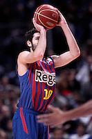 FC Barcelona Regal's Alex Abrines during Liga Endesa ACB match.January 13,2012. (ALTERPHOTOS/Acero)