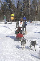 Trent Herbst Anchorage Start Iditarod 2008.