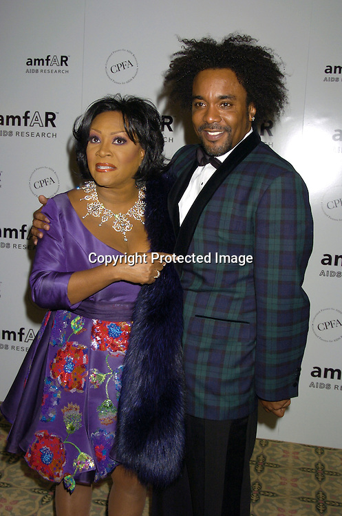 Patti LaBelle and director Lee Daniels ..at The Annual amFar Benefit on November 30, 2004 at ..The Pierre Hotel in New York City. Patti LaBelle, Sumner Redstone and Peter Dolan were honored. ..Photo by Robin Platzer, Twin Images