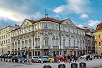 Pałac Wessl&oacute;w (Pałac Ostrowskich, Poczta Saska), Warszawa, Polska<br /> Wessel Palace (Ostrowski Palace, Saska Post), Warsaw, Poland