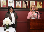 Charlotte St. Martin and Victoria Bailey during the Robert Whitehead Award Ceremony honoring Tom Kirdahy at Sardi's on 5/22/2019 in New York City.