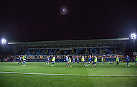 Wycombe warm up before the The Checkatrade Trophy Southern Group D match between Wycombe Wanderers and Coventry City at Adams Park, High Wycombe, England on 9 November 2016. Photo by Andy Rowland.