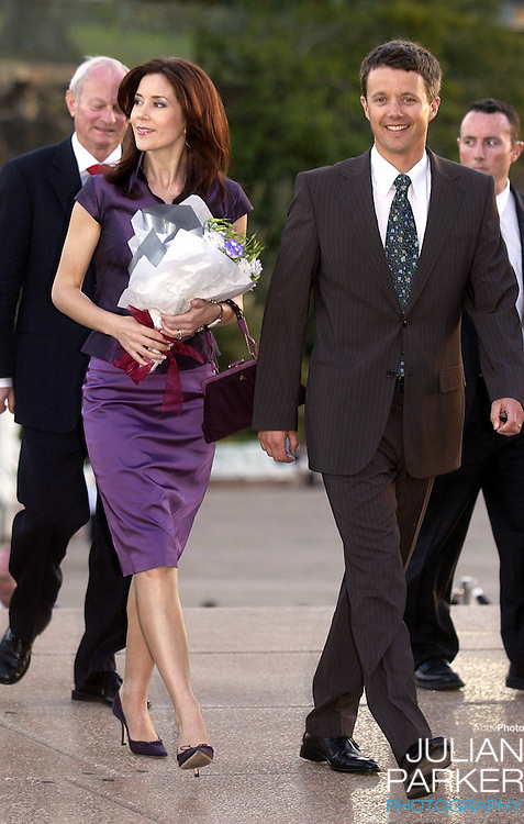 Crown Prince Frederik & Crown Princess Mary of Denmark attend a reception for the Danish community at the Sydney Opera House, during their 2-week visit to Australia..