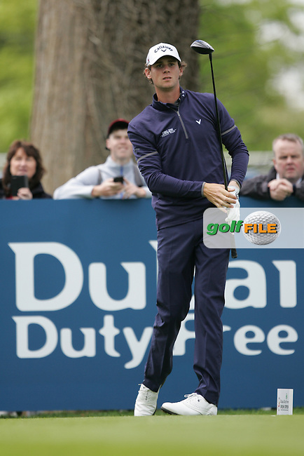 Thomas Pieters (BEL) during Wednesday's Pro-Am ahead of the 2016 Dubai Duty Free Irish Open Hosted by The Rory Foundation which is played at the K Club Golf Resort, Straffan, Co. Kildare, Ireland. 18/05/2016. Picture Golffile | TJ Caffrey.<br /> <br /> All photo usage must display a mandatory copyright credit as: &copy; Golffile | David Lloyd.