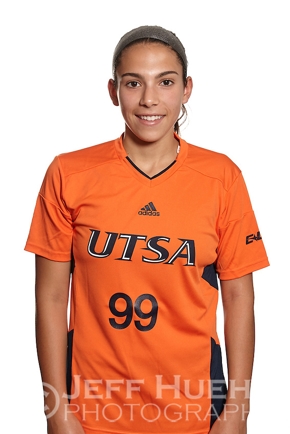 SAN ANTONIO, TX - AUGUST 7, 2015: UTSA Soccer Team & Individual photos at the UTSA Park West Athletics Complex. (Photo by Jeff Huehn)