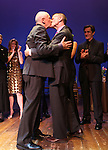 Terrence McNally & Tom Kirdahy.performing in 'Angela Lansbury and Friends Salute Terrence McNally' - A Benefit for the Acting Company in New York City.