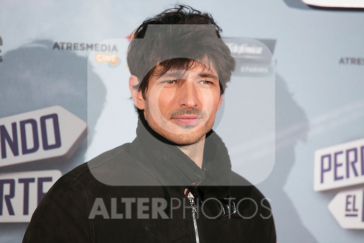 """Andres Velencoso attend the """"Perdiendo El Norte"""" Movie Premiere at Capitol Cinema, Madrid,  Spain. March 05, 2015.(ALTERPHOTOS/)Carlos Dafonte)"""