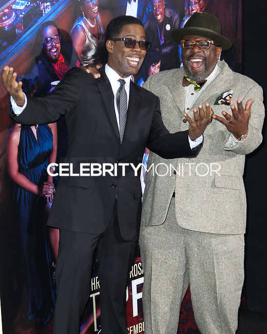 NEW YORK CITY, NY, USA - DECEMBER 03: Chris Rock, Cedric the Entertainer arrive at the New York Premiere Of 'Top Five' held at the Ziegfeld Theatre on December 3, 2014 in New York City, New York, United States. (Photo by Celebrity Monitor)