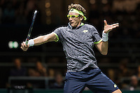 ABN AMRO World Tennis Tournament, Rotterdam, The Netherlands, 16 Februari, 2017, Denis Istomin (UZB)<br /> Photo: Henk Koster