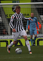 Jon Robertson in the St Mirren v Dundee United Clydesdale Bank Scottish Premier League match played at St Mirren Park, Paisley on 27.10.12.