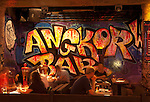 "Angkor What? - Evening in the ""Angkor What?"" bar in Siem Reap, Cambodia"