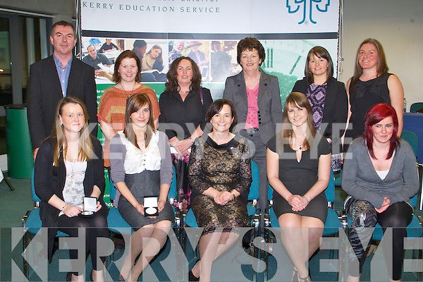 AWARDS: The students of Killarney Youthreach, Tralee Youthreach, Transforum Alley Youthreach, Tralee at the Kerry Education Student Awards at IT Tralee on Friday..