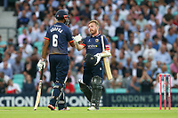 Adam Wheater and Varun Chopra in batting action for Essex during Surrey vs Essex Eagles, Vitality Blast T20 Cricket at the Kia Oval on 12th July 2018
