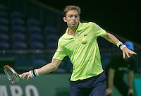 12-02-14, Netherlands,Rotterdam,Ahoy, ABNAMROWTT, Nicolas Mahut(FRA)<br /> Photo:Tennisimages/Henk Koster