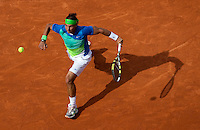 Rafael Nadal (ESP) (2) against Gianni Mina (FRA) in the first round of the men's singles., Rafael Nadal beat Gianni Mina 6-2 6-2 6-2..Tennis - French Open - Day 3 - Tue 25 May 2010 - Roland Garros - Paris - France..© FREY - AMN Images, 1st Floor, Barry House, 20-22 Worple Road, London. SW19 4DH - Tel: +44 (0) 208 947 0117 - contact@advantagemedianet.com - www.photoshelter.com/c/amnimages