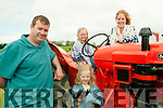 Lixnaw Vintage Rally : Pictured at the Lixnaw Vintage Rally on Sunday last were Barry Realtin, Seanna & Jane O'Sullivan from Tarbert.