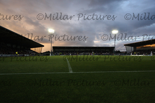 Ground shot in the St Mirren v Newcastle United friendly match played at St Mirren Park, Paisley on 30.7.13.