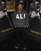 "08 May 2019 - Los Angeles, California - Sugar Ray Leonard. ""What's My Name: Muhammad Ali"" HBO Premiere held at Regal Cinemas LA LIVE 14. Photo Credit: Billy Bennight/AdMedia"