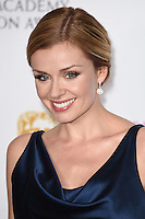 Katherine Jenkins<br /> in the winners room at the 2016 BAFTA TV Awards, Royal Festival Hall, London<br /> <br /> <br /> &copy;Ash Knotek  D3115 8/05/2016