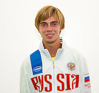 Moscow, Russia, 14 th July, 2016, Tennis,  Davis Cup Russia-Netherlands, The draw, Andrey Rublev (RUS)<br /> Photo: Henk Koster/tennisimages.com