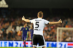 Valencia's  Shkodran Mustafi  during La Liga match. October 17, 2015. (ALTERPHOTOS/Javier Comos)