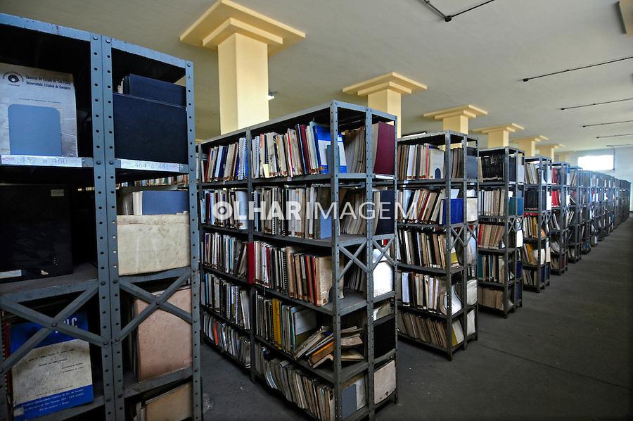 Novo prédio da Biblioteca Nacional. Rio de Janeiro. 2008. Foto de Luciana Whitaker.