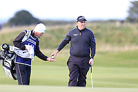 Shane Lowry (IRL) during the final round of the Alfred Dunhill links Championship Old Course, St Andrews, Fife, Scotland.<br /> Picture Fran Caffrey www.golffile.ie